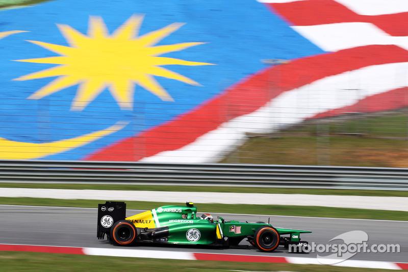 Гидо ван дер Гарде. ГП Малайзии, Первая пятничная тренировка.