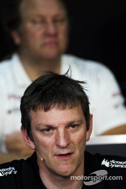 James Allison, Diretor Técnico da Lotus na entrevista coletiva da FIA