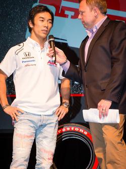 Drivers presentation: Takuma Sato, A.J. Foyt Enterprises Honda