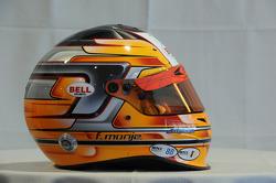 Helmet, Fernando Monje, SEAT Leon WTCC, Campo Racing