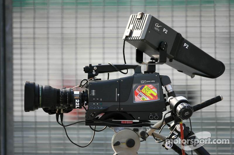 Een tv-camera