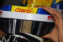 Esteban Gutierrez, Sauber kask vizör koruma bandı