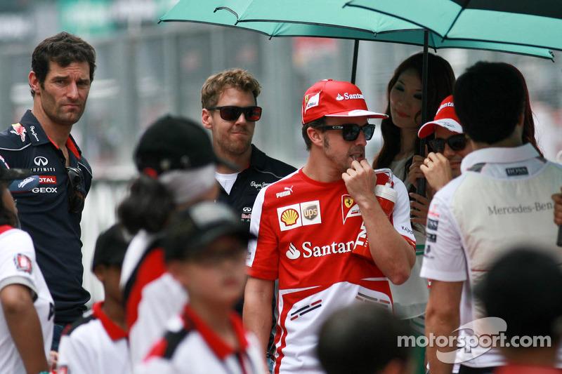 Фернандо Алонсо. ГП Малайзии, Воскресенье, перед гонкой.