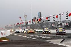Largada do Pirelli World Challenge corrida #2