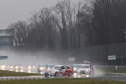 Yvan Muller, RML Chevrolet Cruze 1.6 T, Restart,
