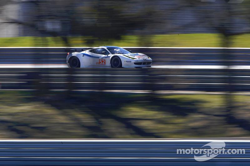 #52 Ram Racing Ferrari 458 Italia: Johnny Mowlem