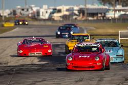 #141 1995 Porsche 993: Ron Branom, Jeff Mitchell