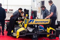 The car of Ana Beatriz, Dale Coyne Racing Honda