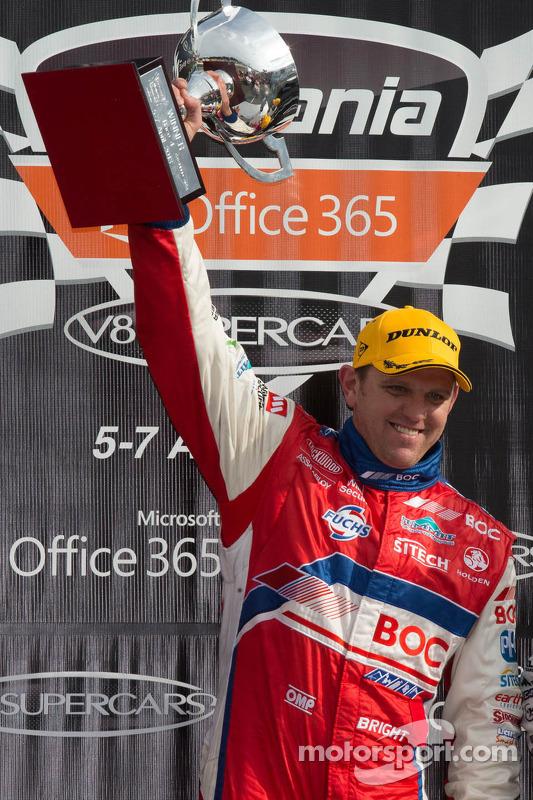 O vencedor Jason Bdireita, BOC Racing