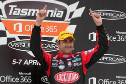 Race winner Fabian Coulthard, Lockwood Racing