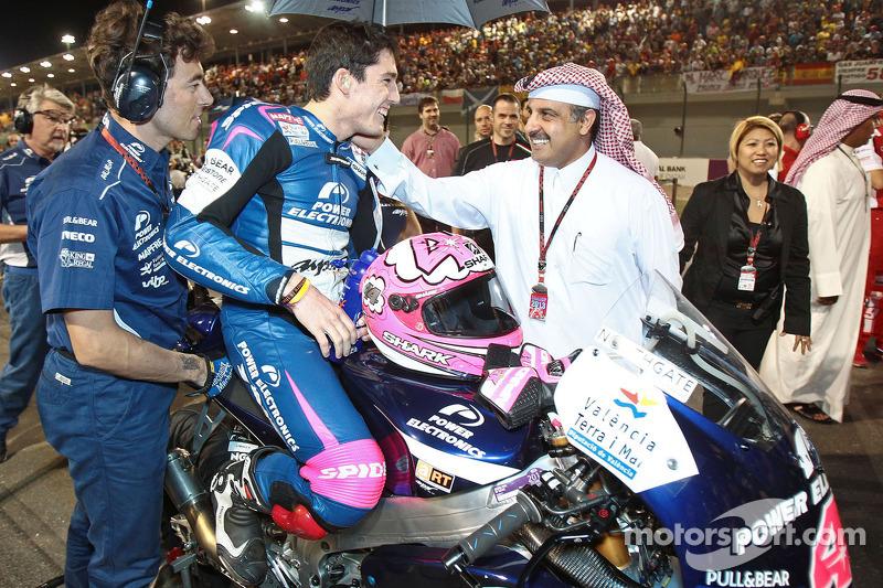 Алеш Эспаргаро. ГП Катара, воскресенье, перед гонкой.