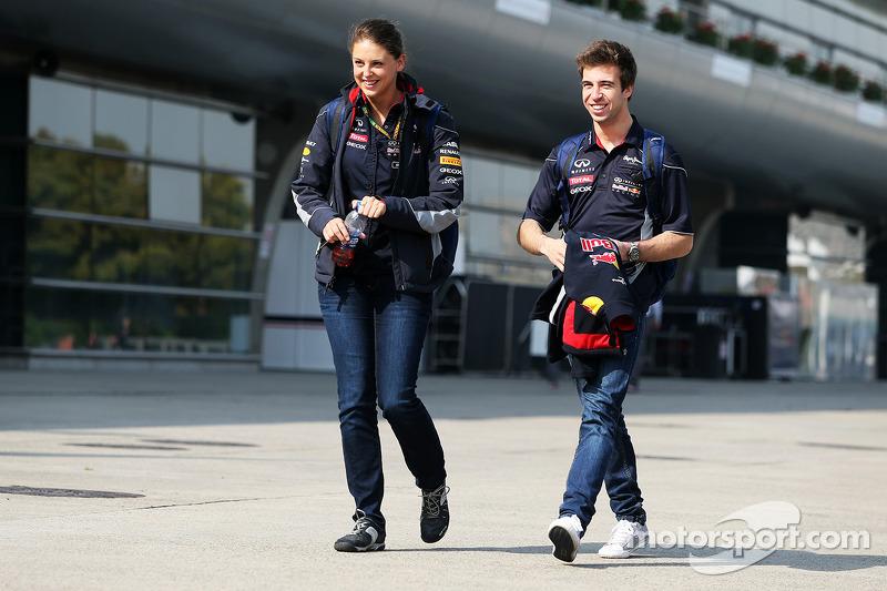 Antonio Felix da Costa, piloto de testes da Red Bull Racing