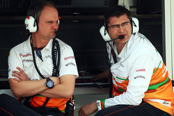 Bradley Joyce, engenheiro da Sahara Force India F1