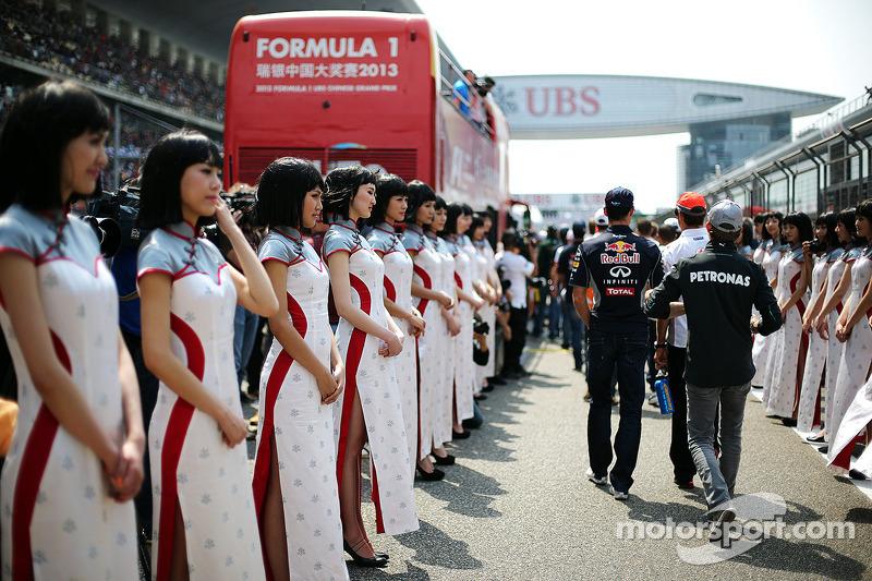 Нико Росберг. ГП Китая, Воскресенье, перед гонкой.
