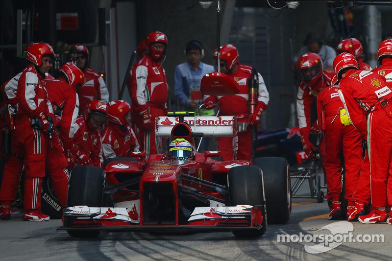 Фелипе Масса. ГП Китая, Воскресная гонка.