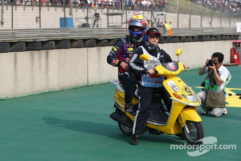 Марк Уэббер. ГП Китая, Воскресная гонка.
