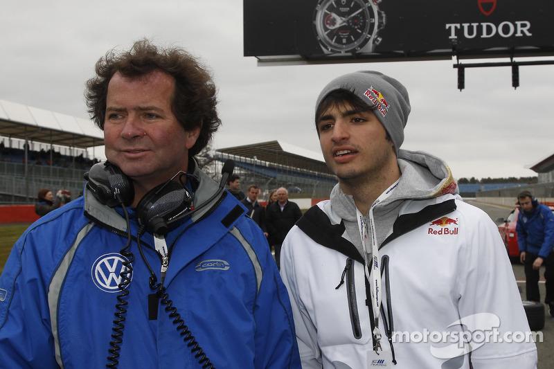 Карлос Саинс-мл.. Сильверстоун, вторая субботняя гонка.