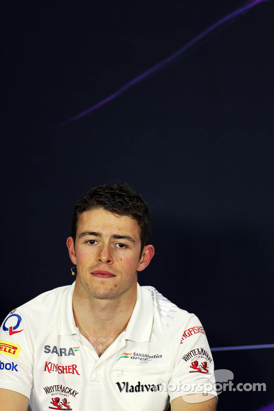 Paul di Resta, Sahara Force India F1 na coletiva da FIA