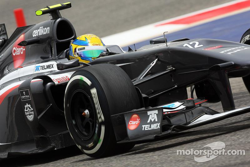 Esteban Gutierrez, Sauber C32