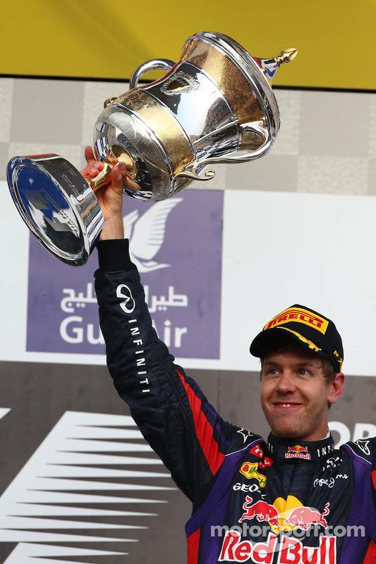 Primeira posição para Sebastian Vettel, Red Bull Racing