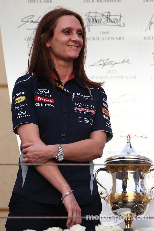 Gill Jones, Red Bull Racing