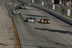 Start: #12 Rebellion Racing Lola B12/60: Nick Heidfeld, Neel Jani leads