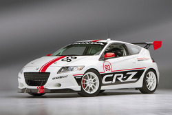 Honda CR-Z que irá corrida at Pikes Peak