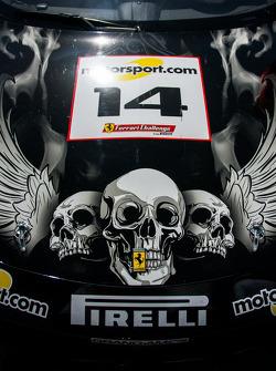 #14 Ferrari of San Diego 458CS: Brent Lawrence