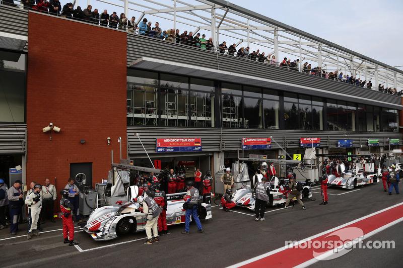 Audi Sport Team Joest klaar voor de kwalificatie