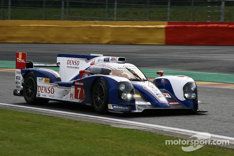#7 Toyota Racing JPN Toyota TS030-Hybrid: Alexander Wurz, Nicolas Lapierre, Kazuki Nakajima
