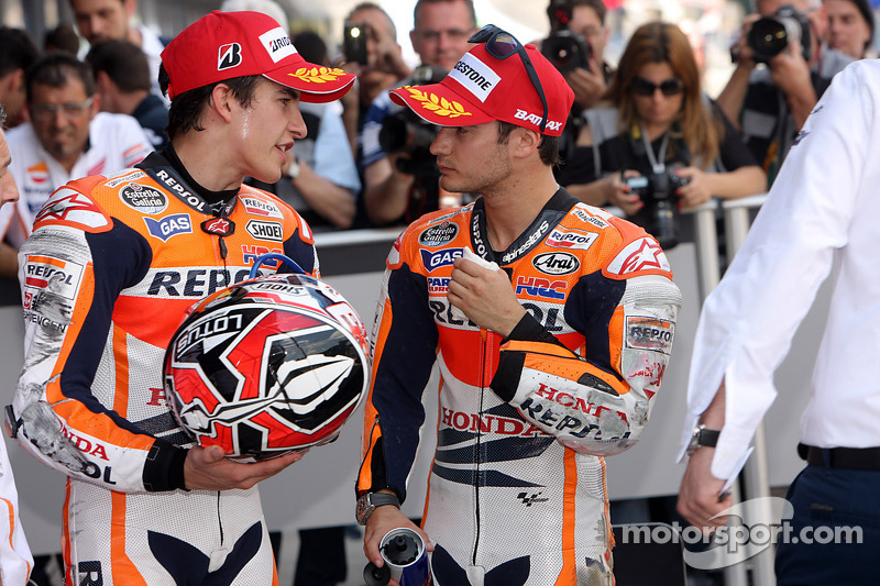 Marc Marquez y Dani Pedrosa, Repsol Honda Team