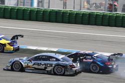 Mattias Ekström, Audi Sport Team Abt Sportsline Audi RS 5 DTM, Christian Vietoris, Mercedes AMG DTM-Team HWA DTM Mercedes AMG C-Coupé