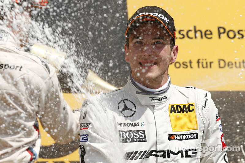 3e plaats Christian Vietoris, Mercedes AMG DTM-Team HWA DTM Mercedes AMG C-Coupé