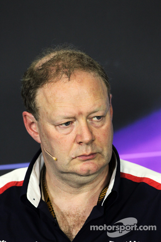 Mike Coughlan, Williams Technical Director in the FIA Press Conference