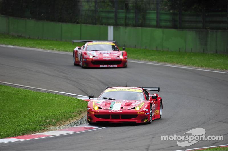 #55 AF Corse Ferrari F458 Italia: Piergiuseppe Perazzini, Marco Cioci, Federico Leo