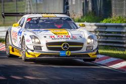 #23 Rowe Racing Mercedes-Benz SLS AMG GT3 (SP9): Lance David Arnold, Alexander Roloff, Thomas Jäger, Jan Seyffarth
