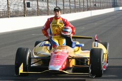 Second place qualifier Carlos Munoz, Andretti Autosport Chevrolet