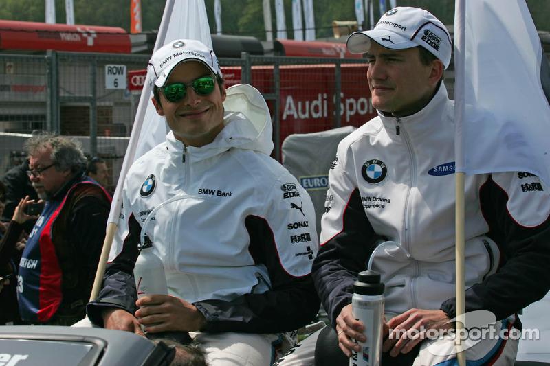Bruno Spengler, BMW Team Schnitzer BMW M3 DTM Dirk Werner, BMW Team Schnitzer, BMW M3 DTM