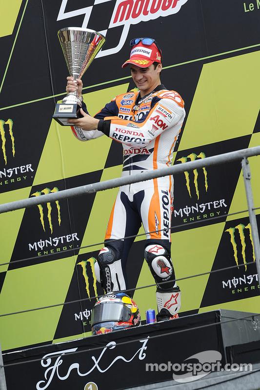 O vencedor Dani Pedrosa, Repsol Honda Team