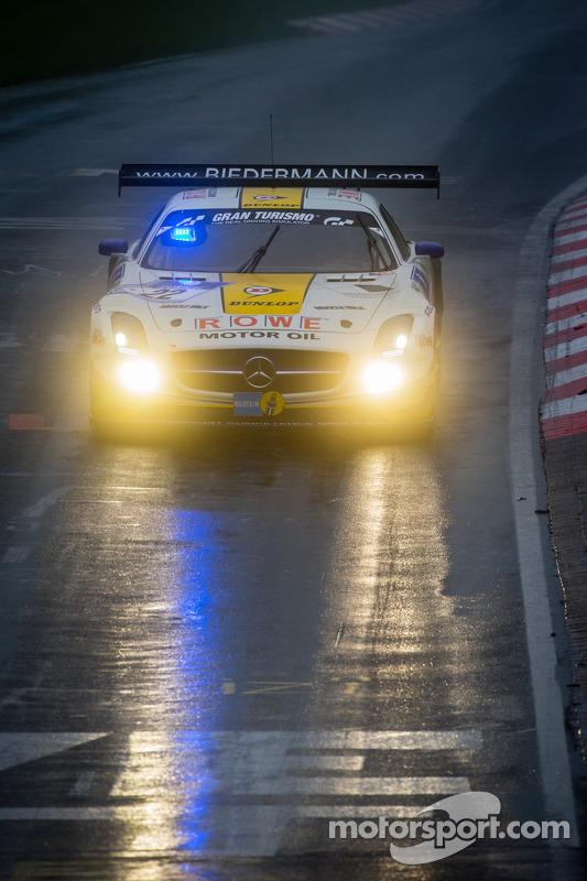 #22 Rowe Racing Mercedes-Benz SLS AMG GT3 (SP9): Klaus Graf, Thomas Jäger, Jan Seyffarth, Nico Bastian