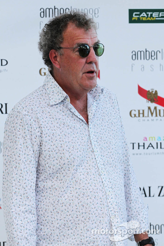 Jeremy Clarkson, at the Amber Lounge Fashion Show