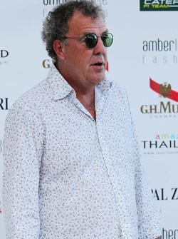 Джеремі Кларксон, ведучій телевізійної програми Top Gear на Amber Lounge Fashion Show