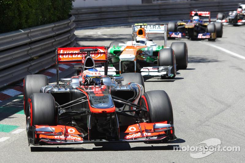 Button, para seguir en los puntos en Mónaco