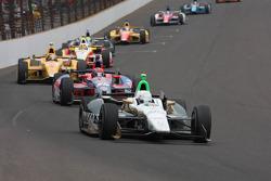 Ed Carpenter, Ed Carpenter Racing Chevrolet lidera la primera vuelta