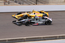 Ryan Hunter-Reay y Tony Kanaan