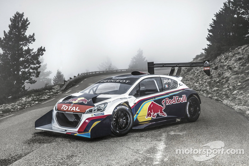 Тесты Peugeot 208 T16 Pikes Peak