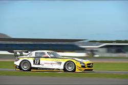 #19 Black Falcon Mercedes SLS AMG GT3: Oliver Morley, Duncan Tappy, Andreii Lebed