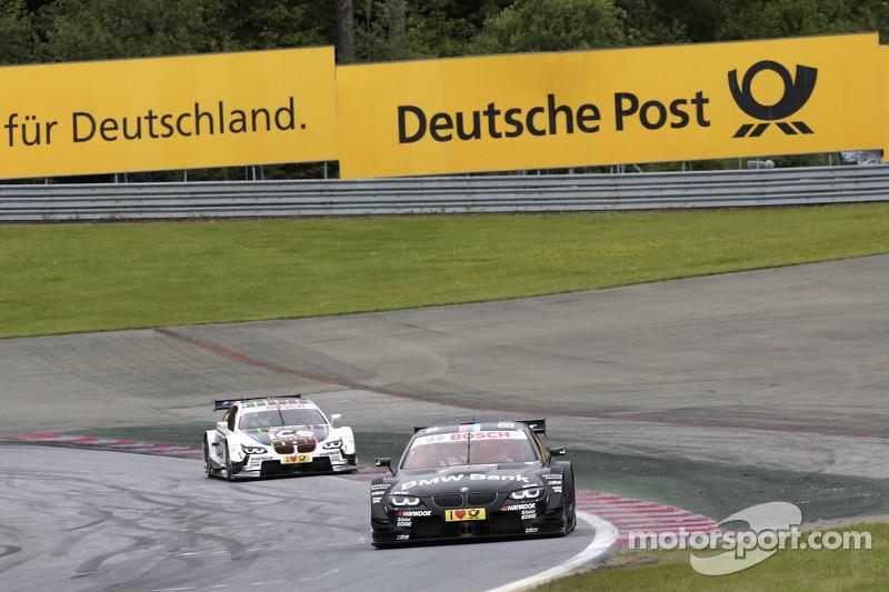 Bruno Spengler, BMW Team Schnitzer BMW M3 DTM en Marco Wittmann, BMW Team MTEK BMW M3 DTM