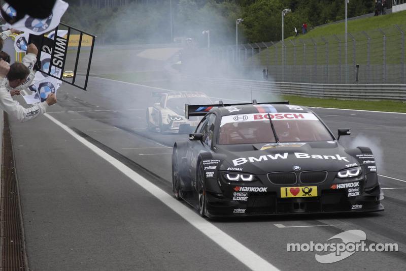 Bruno Spengler, BMW Team Schnitzer BMW M3 DTM pakt de overwinning