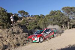 Nicolas Fuchs en Fernando Mussano, Mitsubishi Evo IX